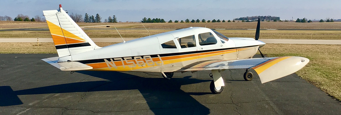 Available NOW for Rental and Instruction: 180hp Piper Arrow